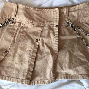 Guess Mini khaki skirt